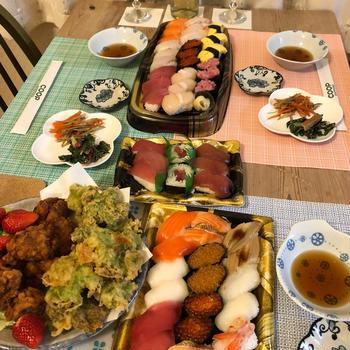 結婚記念日は、お寿司で決まり