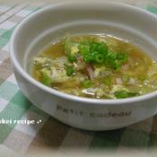 春の花椒スープ