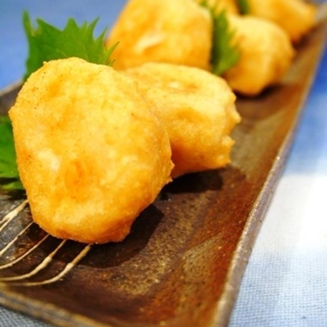 子供も食べやすいお魚料理♪鱈と豆腐のふんわり揚げ