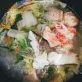 春雨たっぷり!海鮮ツルツル鍋!
