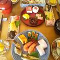 平成28年元旦の祝い食1:盛り込み