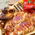 豚ロース&スペアリブの「BBQソース焼き」♬