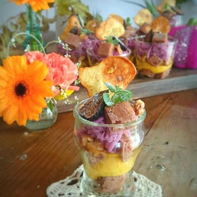 サツマイモのハロウィンカップ