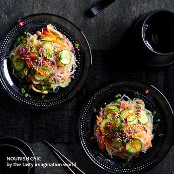 野菜たっぷり和風はるさめサラダ