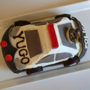 パトカーケーキ。