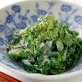 菜の花のヨーグルト洋風からし和えのレシピ/作り方