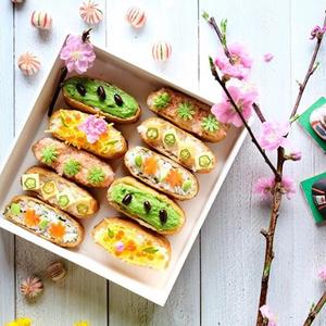 春らしい色合いがかわいい「#ひな祭りごはん」