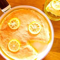 グリーンパン ウッドビー フライパンで焼く♪レモンスフレケーキ♡