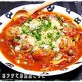 ★豚肉油揚げロールのトマト煮込み★ by みみこさん