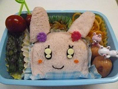 うさぎさんの卵サンド!! 飾り巻き寿司レッスン6月 カエル
