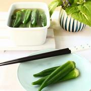 暑さにほてった体もホッとする、夏野菜を使った常備菜5品。