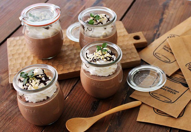 お菓子作り初心者さんに◎混ぜて冷やすだけの「濃厚チョコレートプリン」