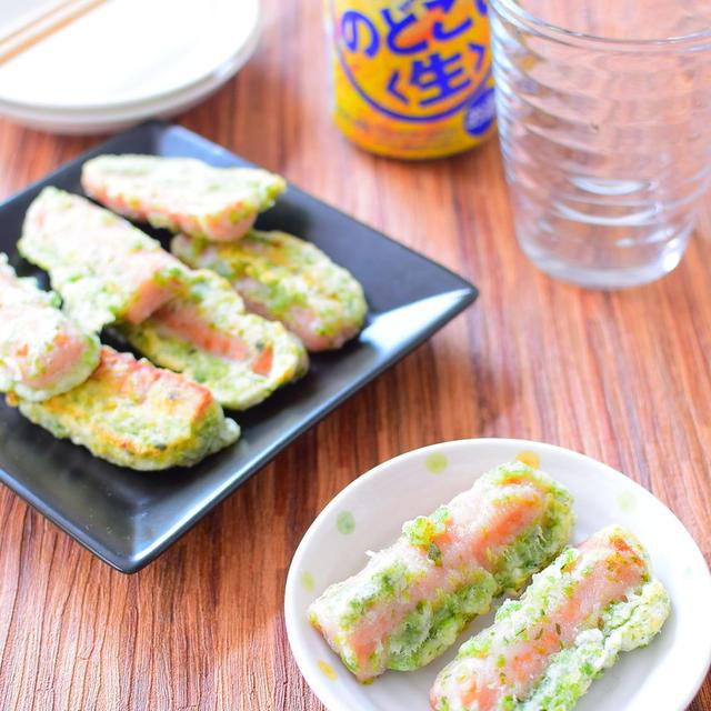 魚肉ソーセージで作る!揚げない!磯辺揚げのレシピ