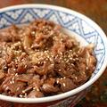 土鍋ご飯で牛焼肉丼!