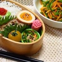 お弁当のおかずにレンジで90秒簡単おかずピーマンのカレー和え&朝時間.jp掲載