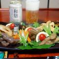 和食の生ビール「和膳」でいただく【日本の味・8品目の煮物炊き合わせ。】
