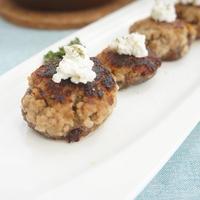 【モニター】椎茸の肉詰めカッテージチーズ添え