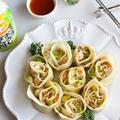 食卓に食べれる花束を。簡単おもてなし!母の日レシピ えび・アボカド・バラ餃子