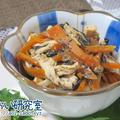 料理日記 113 / ひじき煮とささみのごま味噌和え