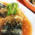 【レシピ動画】青魚を美味しく食べよう!【サバの甘辛おろし煮】レンチン★簡単★サッパリ美味!