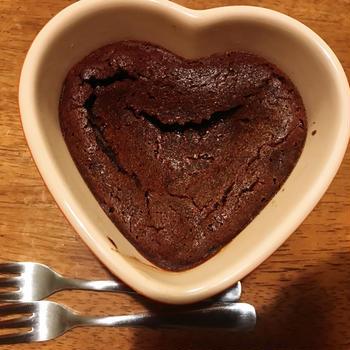 【レシピ】粉無しグルテンフリー!洗い物1つのチョコケーキ♪