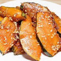 かぼちゃの甘辛炒め「簡単料理」しっかり味の弁当おかずにおつまみに最高!