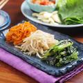 【作り置きレシピ】ナムル3種(もやし・小松菜・にんじん)