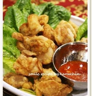 鶏の唐揚げ スイートチリソース