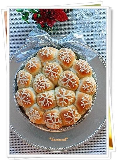 クリスマス☆ snow bread ①