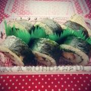 *韓国風・チキンカツの海苔巻き弁当♪