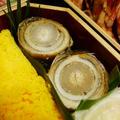 現在から6年ほど前の2012年に作ったおせち料理の1品の「あなごとごぼうの八幡巻き」になります~♪ 【おせち料理】【レシピ1783】