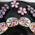 デコ巻き寿司&飾り巻き寿司 よみうり伊丹文化センター2月レッスン 梅の木