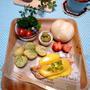 スウェーデン風ワンプレート☆サーモンのレモンバターソース