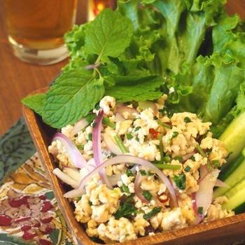 ラープガイ~鶏ひき肉のサラダ~