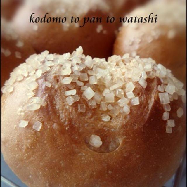 【生地作りコース】黒糖パン~ザラメをのせて~