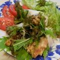 エバラ豚肉カツ丼 生春巻き