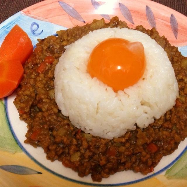 肉不使用!『大豆のお肉』のキーマカレー