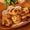 ホットケーキミックス(HM)でつくる、超簡単2色のデコクッキー☆ココア&プレーン