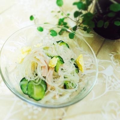 給食風♡春雨中華サラダ