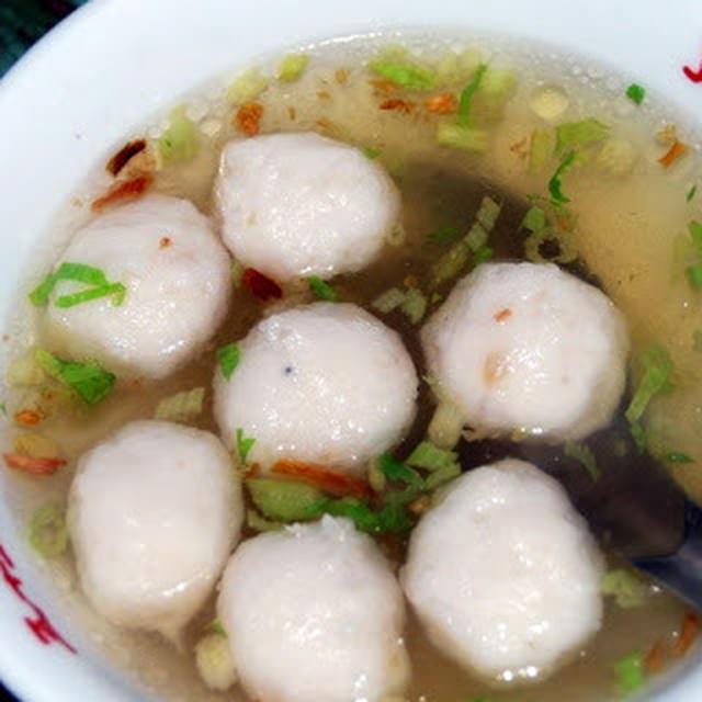 魚丸湯|台湾風魚つみれスープ