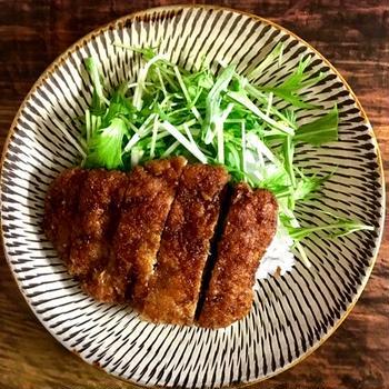 【豚こまで!満足】ソースカツ丼