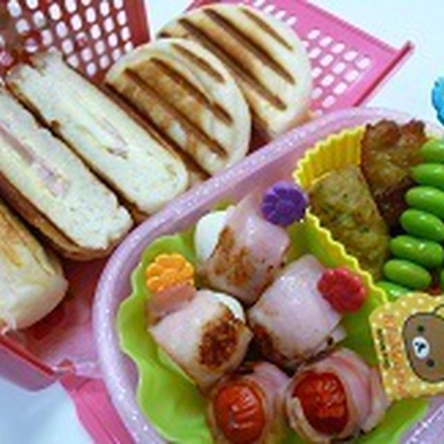 パニーニランチ弁当!! 飾り巻き寿司レッスン6月 カエル