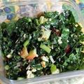 手揉みケールサラダ Kale Salad