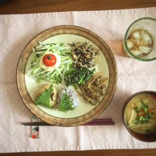 精進料理風ワンプレートlunch♡