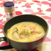 牡蠣と里芋のチャウダー