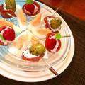 2種のフレーバーサワークリーム in サラミコーン★ ~ お洒落なおつまみに by mayumiたんさん