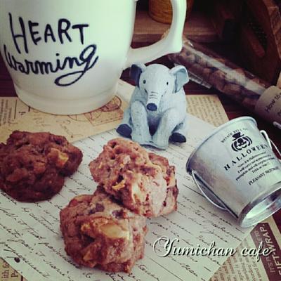 ♡市販のチョコクッキー&アーモンド入りdeサックサク♪ココア黒糖チョコクッキーの作り方♡