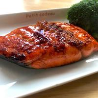 紅鮭の照り焼き《カンタン酢》