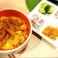 recipe☆カオソーイガイ(カレーラーメン)