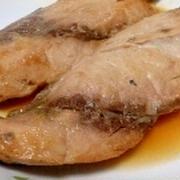 フライパンでいなだの煮魚